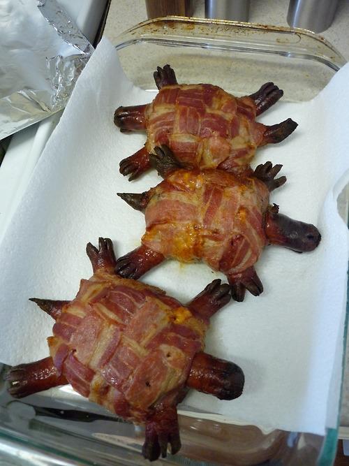 Bacon Cheese Turtleburger