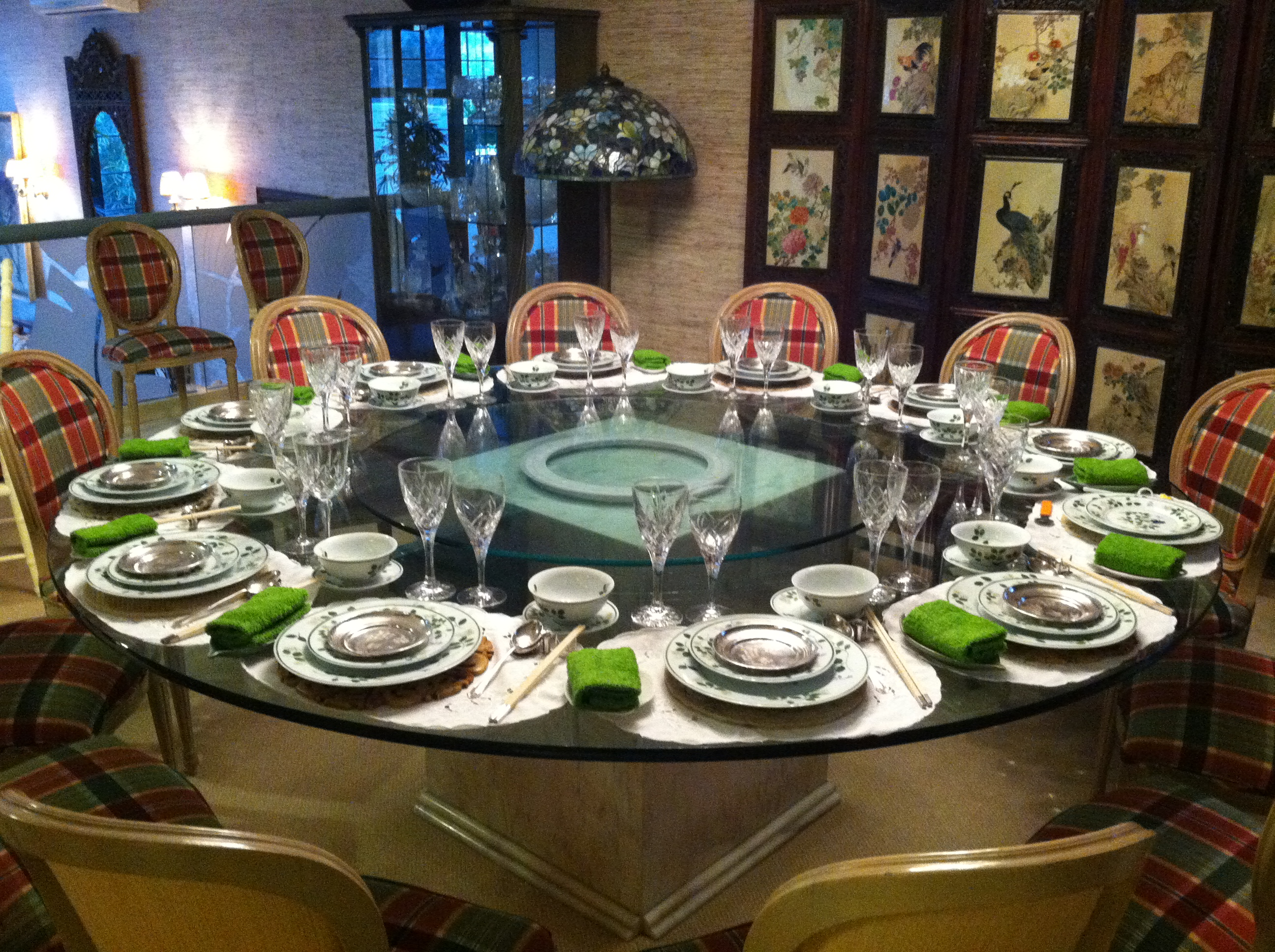 Creative table settings for home parties lesson 1 for Dining set ideas