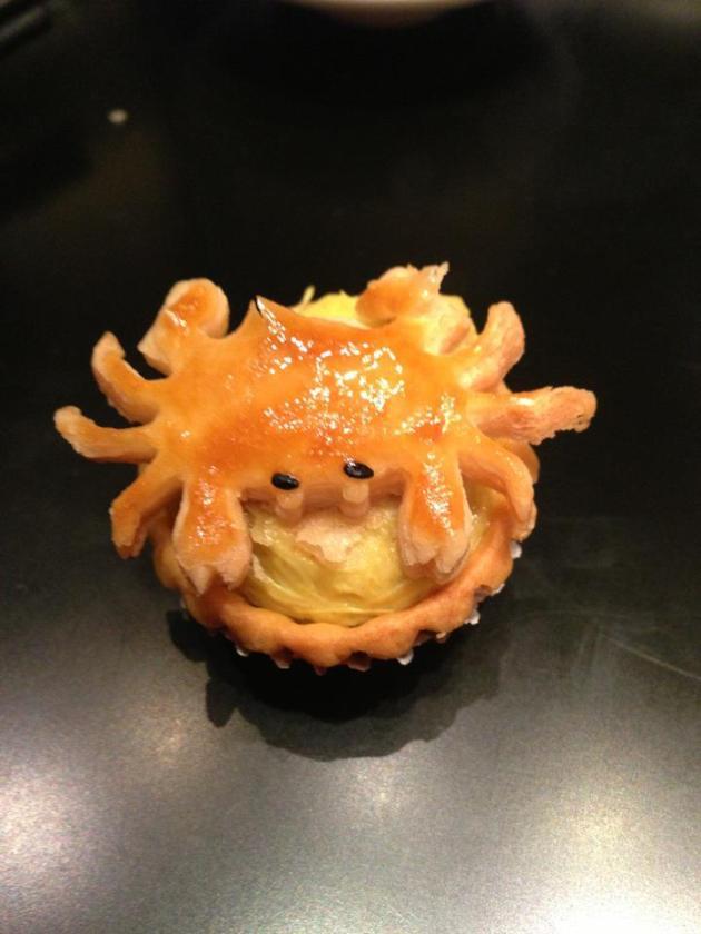 Crab Meat Tart
