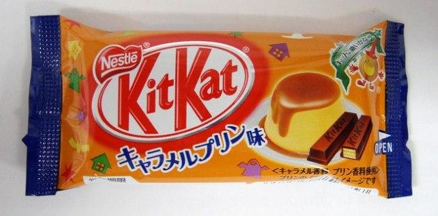 Creme Caramel Kit Kat