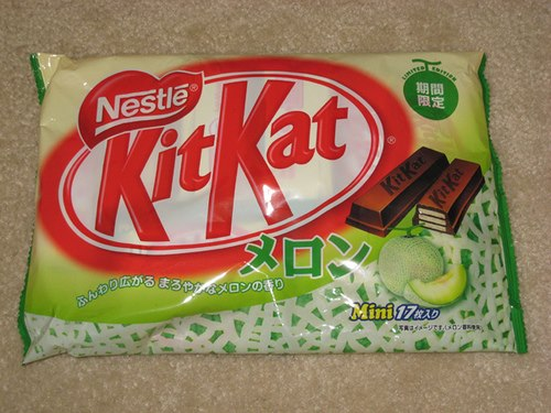 Honeydew Melon Mini Kit Kat