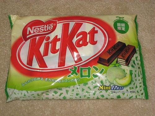 Honeydew Melon Mini Kit Kat