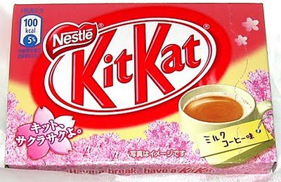 Milk Coffee Kit Kat
