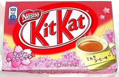 Milk Coffee Kit Kat