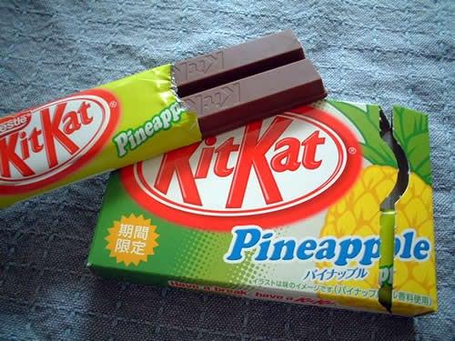 Pineapple Kit Kat