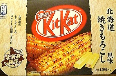 Roasted Corn Kit Kat