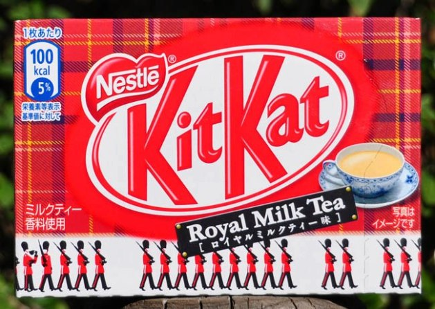 Royal Milk Tea Kit Kat