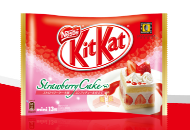 Strawberry Cake Kit Kat