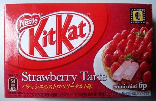 Strawberry Tarte Kit Kat