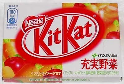 Vegetable Kit Kat from Ito En